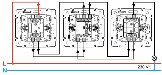 Схема Выключатель
