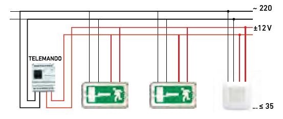 TELEMANDO схема подключения